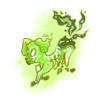 Ghostpupicon green