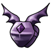 Purple breastplate icon