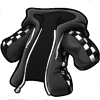 Finishlinehoodie black icon