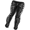 Leather leggings icon