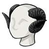 Fortuneshorns black icon