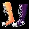 Mismatchedshoes amertrine icon