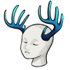 Whitetailantlers rippleweed mannequin