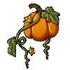 Pumpkin orange thumb