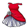 Rose party dress thumb