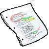 Thumbnail popup class notes
