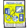 Thumbnail popup media club