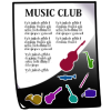 Thumbnail popup music club