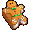Thumbnail popup gingerbread man