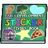 Thumbnail popup sticker activity book