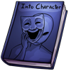Thumbnail popup into character