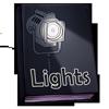 Thumbnail popup lights