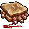 Thumbnail popup finger sandwich