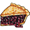 Thumbnail popup blueberry pie