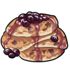 Thumbnail popup blueberry pancakes