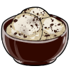 Thumbnail popup chocolate chip ice cream