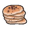 Thumbnail popup chocolate chip pancakes