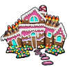 Thumbnail popup gingerbread cottage