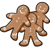Thumbnail popup gingerbread cookies