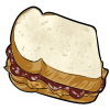 Thumbnail popup peanut butter and jelly sandwich
