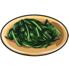 Thumbnail popup sauteed spinach
