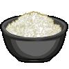 Thumbnail popup white rice
