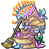 Thumbnail popup beautiful cake edit