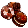 Thumbnail popup 2 chocolate palentine s macarons