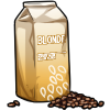 Thumbnail popup blonde roast coffee beans