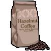 Thumbnail popup hazelnut coffee beans