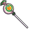 Thumbnail popup lollipop orange