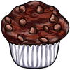 Thumbnail popup chocolate muffin