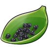Thumbnail popup dried blueberries