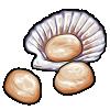 Thumbnail popup scallops