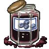 Thumbnail popup blueberry jam