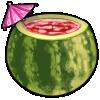 Thumbnail popup watermelon umbrella drink