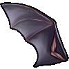 Thumbnail popup wing of bat