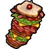 Thumbnail popup dagwood sandwich