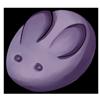 Thumbnail popup bun bun purple