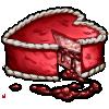 Thumbnail popup bleeding heart cake