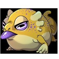 Kith frog 1 yellow sm