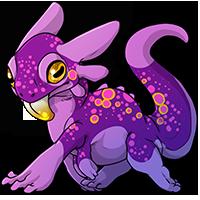 Kith frog 3 purple sm