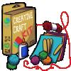 Thumbnail popup creative crafts kit