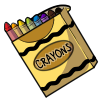 Thumbnail popup box of crayons