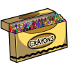 Thumbnail popup deluxe box of crayons