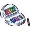Thumbnail popup deluxe set of colored markers