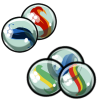 Thumbnail popup marbles