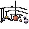 Thumbnail popup planetary model