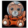 Stuffy astronaut