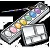 Thumbnail popup pastles watercolorsets